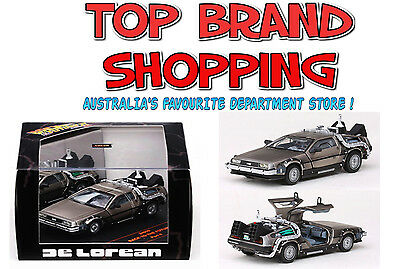 1:43 Die-Cast Back To The Future Time Machine De Lorean Part 2 Sunstar New