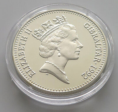 Gibraltar 2 Pounds  1992 Proof #paa 051