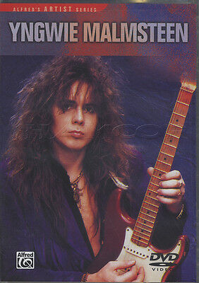 Yngwie Malmsteen Guitar Tuition DVD Learn How To Play Neo-Classical Shred
