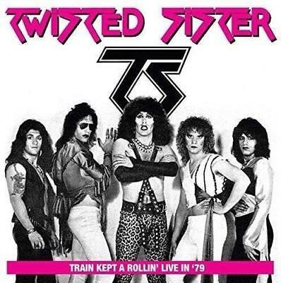 Twisted Sister – Train Kept A Rollin' In '79 : Live At The Detroit Club (New) Cd
