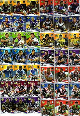 2007 Nrl Signature Tazo Full Set Rugby League Smiths Chips Cards
