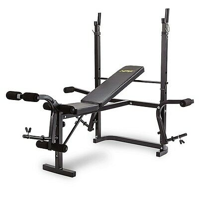 NEW HPF Multi-Station Weight Bench Home Gym Weights Leg Curl Press Equipment