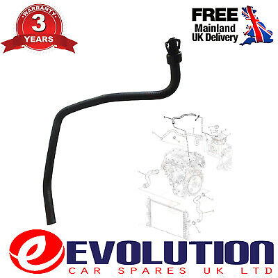 Chevrolet / Vauxhall / Opel 1.4L  Radiator Coolant Bypass Hose Pipe 13251447