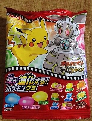 "Lotte ""Pokemon Gummy"" Enjoy 6 Flavors, Japan, Candy,"