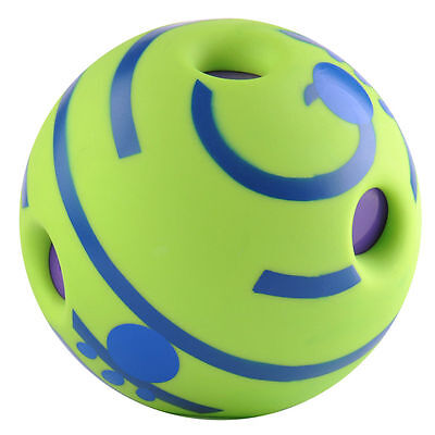 No Harm Wobble Wag Giggle Ball Dog Training Pet Toys With Funny Sound
