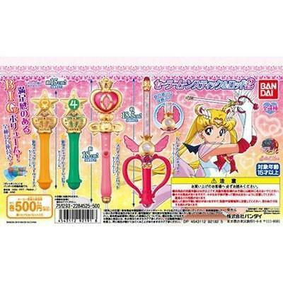 Bandai Sailor Moon Wands Gashapon set Vol 2 Stick Rod & Transformation Wands New