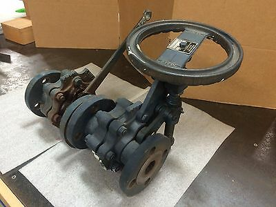Everlasting Valve Co Boiler Blow Down Valves, Size 1.5, 250 Lbs. 4061A, 4001A