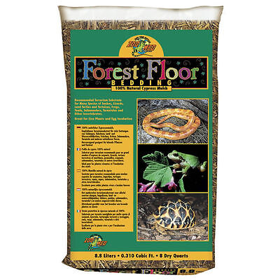 Zoo Med Reptile Forest Floor Bedding Cypress Mulch Snake Reptile Bedding
