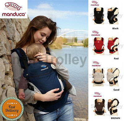 Manduca Newborn Infant Toddler Child Front Back Hip Baby Carrier Multi Colors