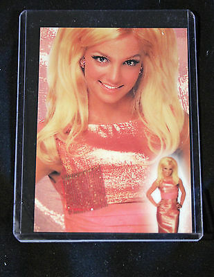 Britney Spears 2002 Operation Swatchit 1963 Pink Dress & Card