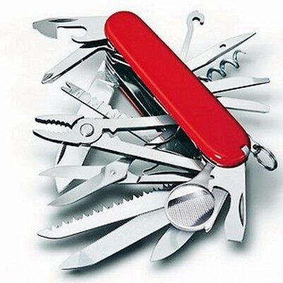 New Swiss Army Knife Outdoor Multi-Tool 30-in-1 Knife Swiss Champ Pocket Knife