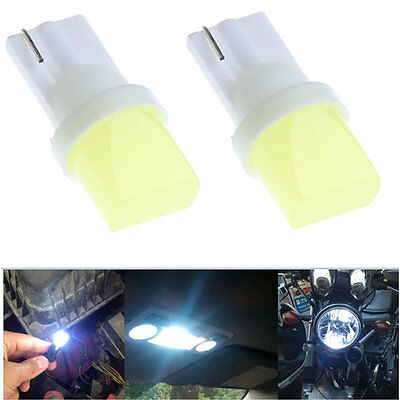 Car Interior T10 10W 2825 3D LED Wedge Light Side Bulb License Plate Lamp DC12V