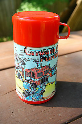 Vintage Transformers Thermos Aladdin