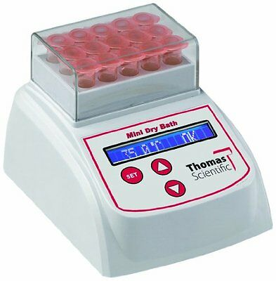 Thomas BSH100-02 Mini Dry Bath Heat Block with 40 x 0.2mL or 5 PCR 8 Tube Strip