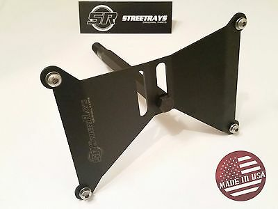 StreetRays Dual Position Front License Plate Holder for 2015-16 Subaru WRX & STi