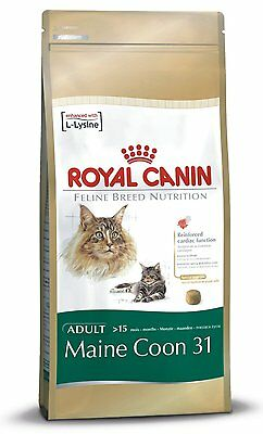 Royal Canin Maine Coon 31 Cat Adult Dry Cat Food Balanced and Complete Food 4kg