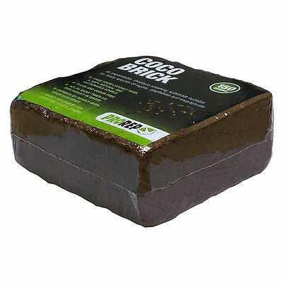 Pro Rep Coco Brick 150g expands 800% - Tortoise Bedding / substrate NATURAL