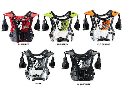 Thor S14 Quadrant Protector Youth Body Armour Motocross Mx Cheap Kids Boys Roost