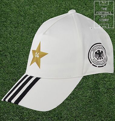 Germany Football Cap - Official adidas Deutschland World Cup Winners Cap - Adult