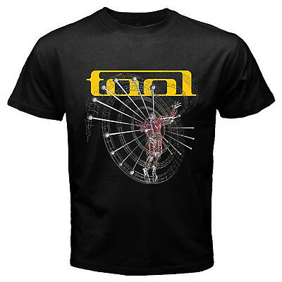 Tool Rock band Men's Black T Shirt S M L XL 2XL 3XL