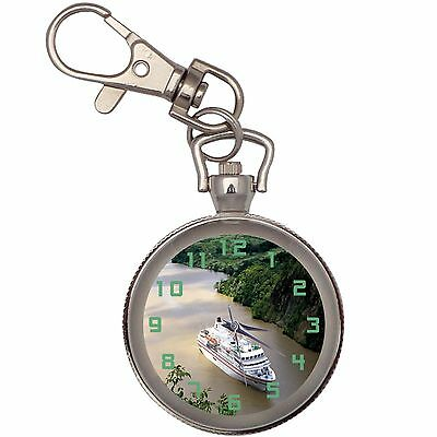 New Cruise Ferry Key Chain Keychain Pocket Watch