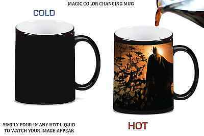 36 Color Changing 11 ounce Sublimation Mugs Magic Morphing Black to White 11oz