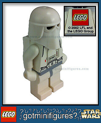 "LEGO® STAR WARS SNOWTROOPER ""LFL LEGO GROUP"" RARE Exclusive minifigure promo NEW"