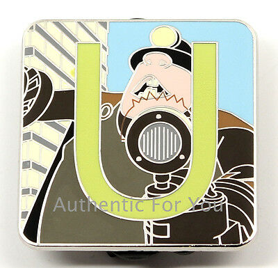 NEW Disney Pin Pixar Alphabet Letter U The Underminer - Incredibles Villain Mole