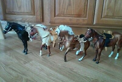 Breyer custom saddle set with breast collar