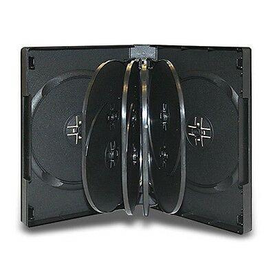 10 Disc DVD Case with 4 Trays 33mm - 20 Pack