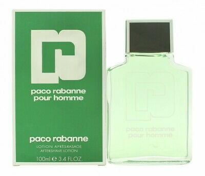 Paco Rabanne Pour Homme Aftershave 100Ml Splash - Men's For Him. New