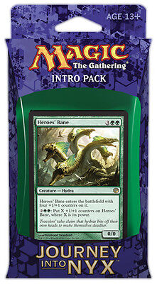 The Wilds and Deep intro Pack 60-Card Deck Journey into Nyx MTG   inc 2 boosters