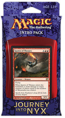 Voracious Rage Intro Pack 60-Card Deck Journey into Nyx MTG | inc. 2 boosters!