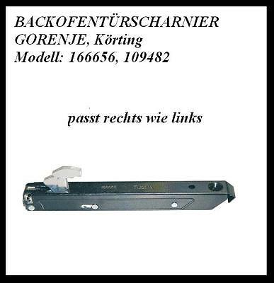 Backofenturscharnier Fur Neckermann 03344256 Lloyds Korting Backofen