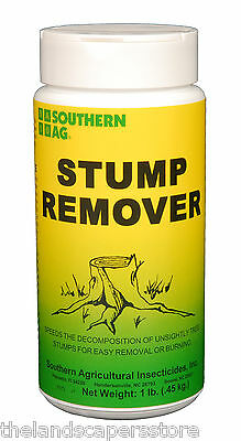 Stump Remover 16oz 1lb Speeds the decomposition for easy removal or burning