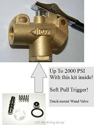 """Carpet Cleaning  1/4"""" Brass Truckmount  Wand angle valve HIGH PRESSURE"""