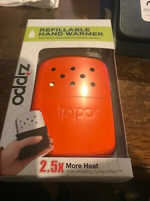 Zippo Realtree Refillable Deluxe Hand Warmer w/ Pouch 12 hour