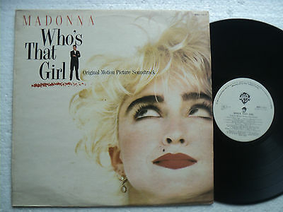 Madonna - Who's that Girl    - A super RARE ZIMBABWE LP /  EX+