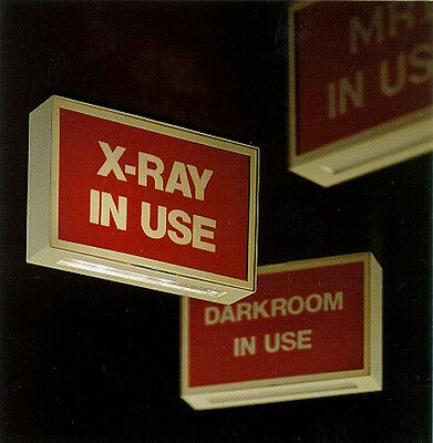 "NEW AMS ""X-Ray In Use"" Lighted Info Sign (900X)"