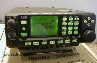 EU STOCK NEW UNBLOCKED AOR AR-8600MK2 Communications Receiver