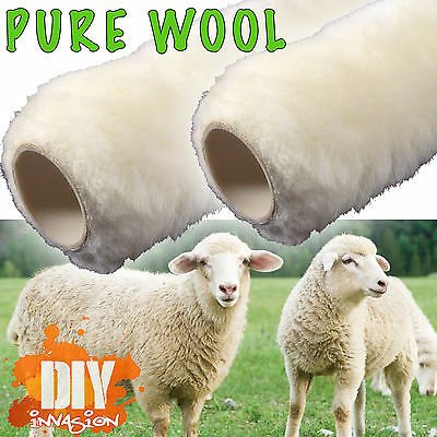 Paint Roller Rollers Painting Brushes Brush Lambs Wool 270mm 360mm Wall Ceiling