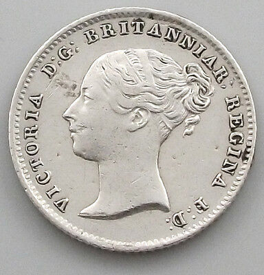 GREAT BRITAIN  4 PENCE 1838 RARE MAUNDY   #gw 083