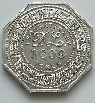 GREAT BRITAIN SCOTLAND 1609 - 1909 PARISH CHURCH 27MM    #gw 149