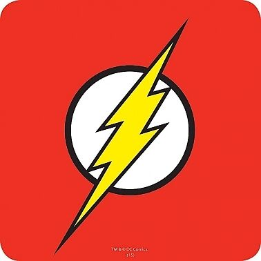 The Flash Justice League Single Coaster Official New