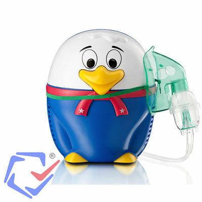 Duck Nebulizer Inhaler for Children Kids Certified Medical Device