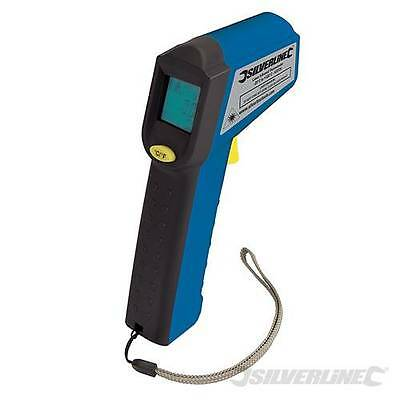 SILVERLINE LASER INFRARED THERMOMETER  -38°C to +520°C - 633726