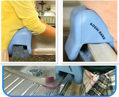 New Sink Cushion Waist Protector & Sink Spatter Defense,Comfortable dish washing