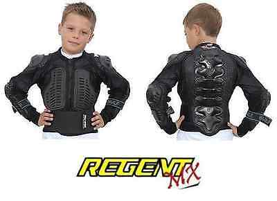 Wulfsport Full Deflector Body Armour Kids Childrens Motocross Mx Quad