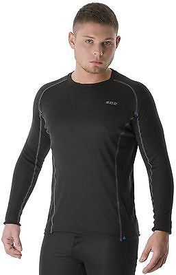 EDZ All Climate Base Layer Wicking Thermal Long Sleeve Sports Motorcycle Top - T