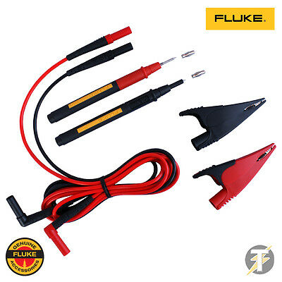 Fluke Suregrip (AC285, TL224, TP175E) Multimeter/ Clampmeter Test lead set